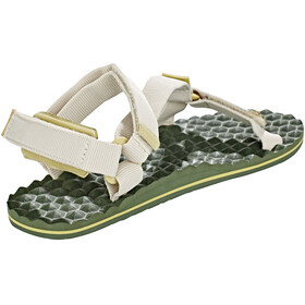 The North Face W's Base Camp Switchback Sandals Vintage White/Olivenite Yellow